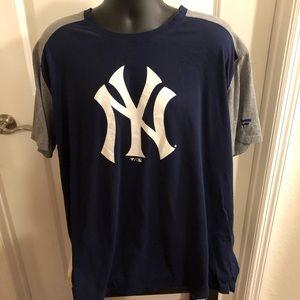 NY Yankees Baseball Men's Shirt 3X Doublesided